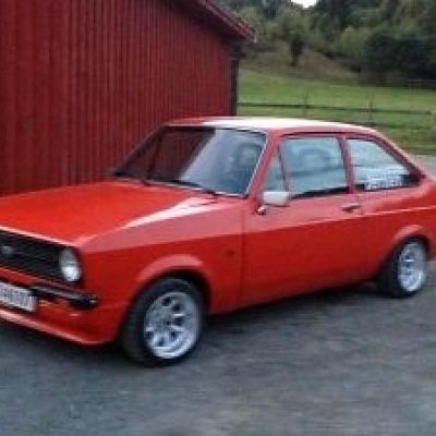 Ford Escort MK2 RS2000 1976 - 1981