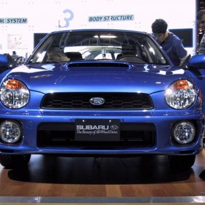 Subaru WRX Turbo 2001-2002 Bugeye