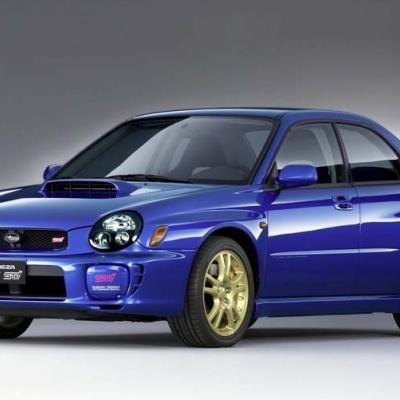 Subaru WRX STI 2001-2002 Bugeye
