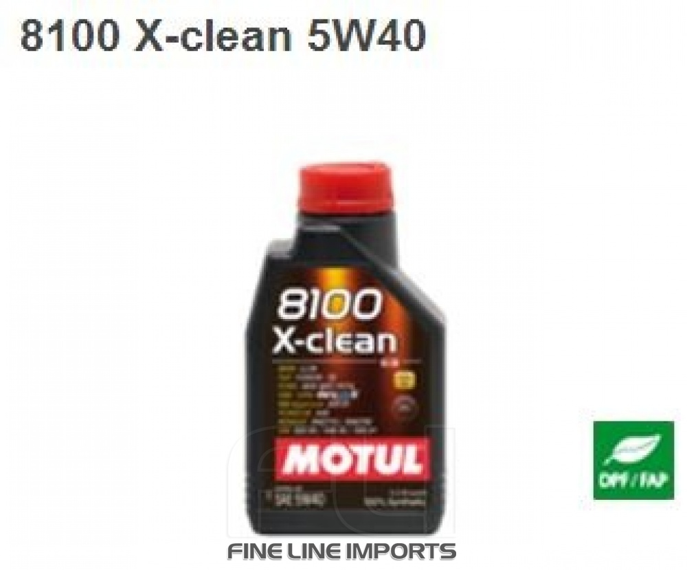 motul 8100 x clean 5w40 fineline imports. Black Bedroom Furniture Sets. Home Design Ideas