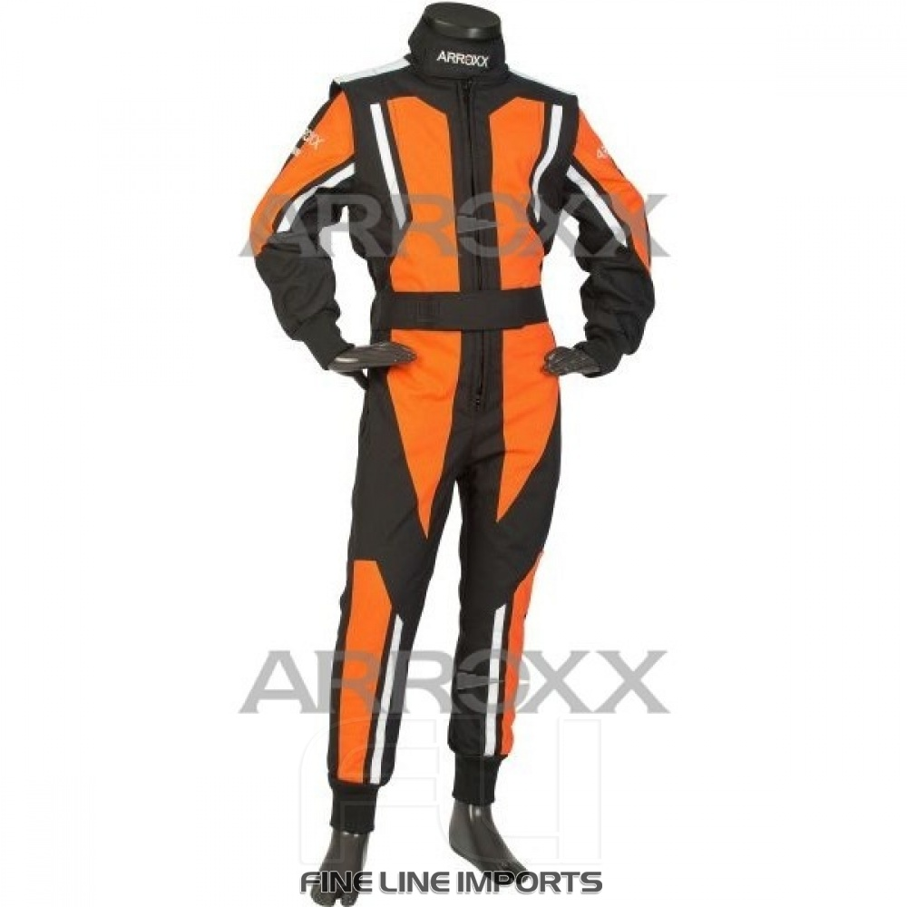Arroxx Junior Overall Level 2 Xbase Zwart-Oranje-Wit