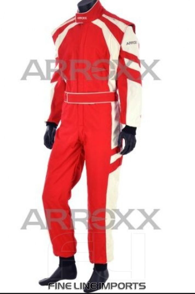 Arroxx Overall Level 2 Rood/Wit