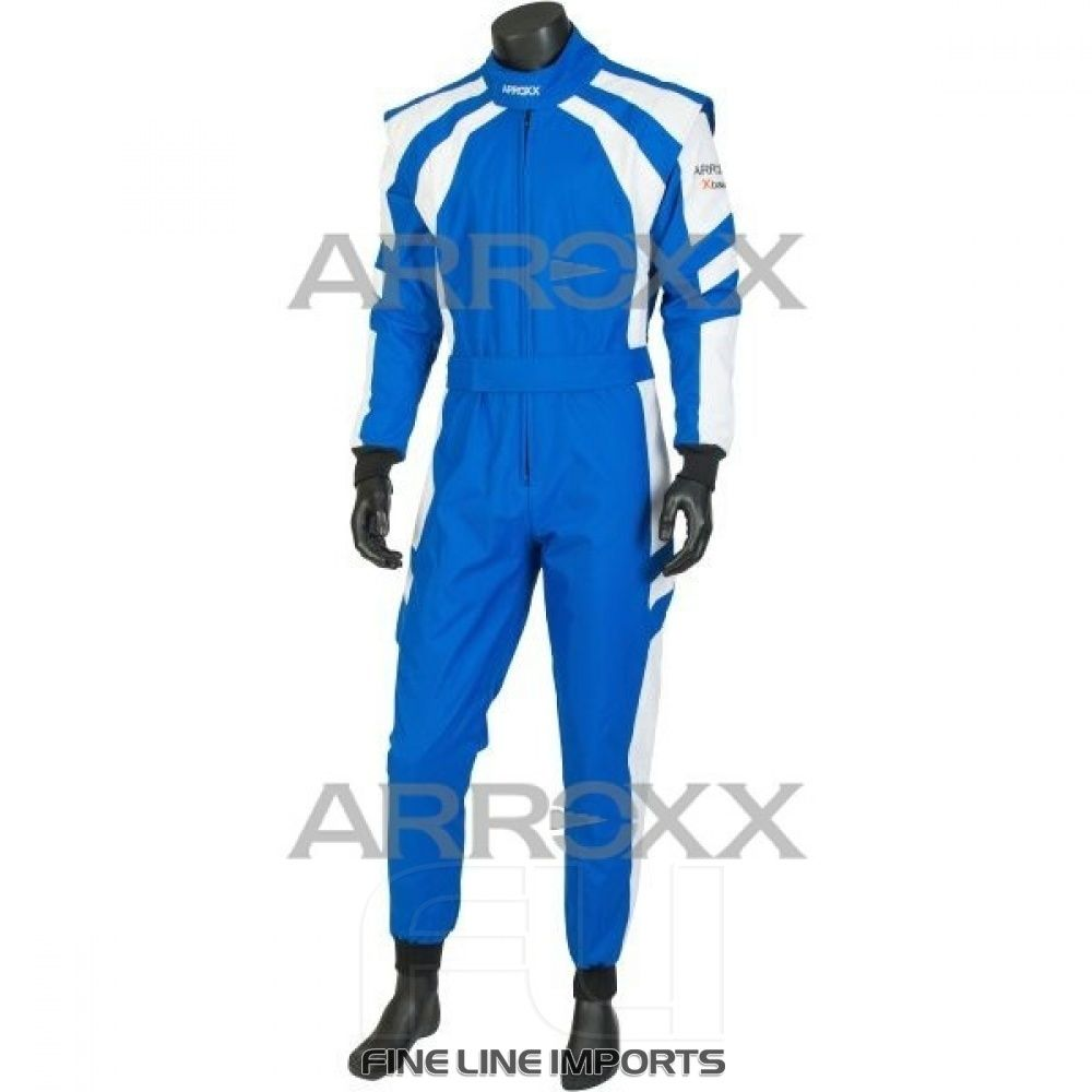 Arroxx Overall Xbase Level 2: Blauw - Wit