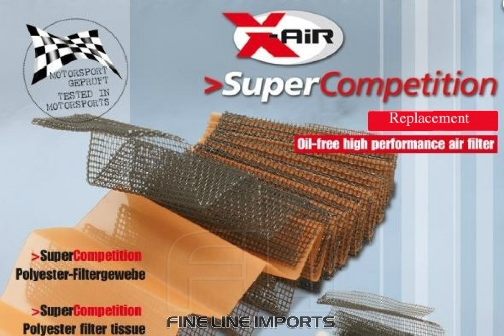 X-Air Sport Luchtfilter Super Competition SD-330461SC