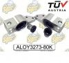 VW FR LWR CTRL IN RR BRACKET ALOY3273-80K