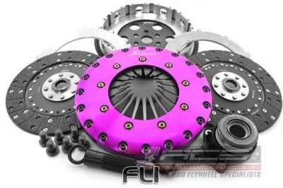 230mm Organic Twin Plate Clutch Kit Incl Flywheel & Concentric Slave Cilinder
