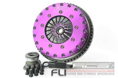 230mm Rigid Ceramic Twin Plate Clutch Kit Incl Flywheel & Concentric Slave Cilinder