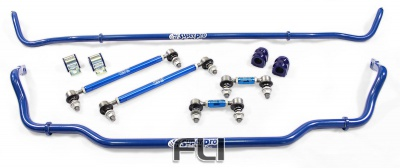 24mm and 20mm Front and Rear Adjustable Sway Bars