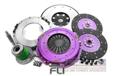 270mm Organic Twin Plate Clutch Kit Incl Flywheel & Concentric Slave Cilinder