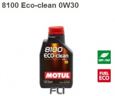 8100 Eco-clean 0W30