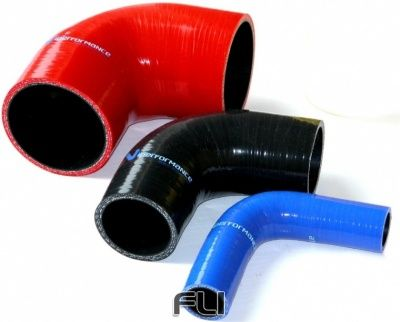 Silicone 90 Graden Bocht Polyester 102mm