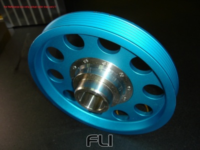 AP1 Light weight crank pulley