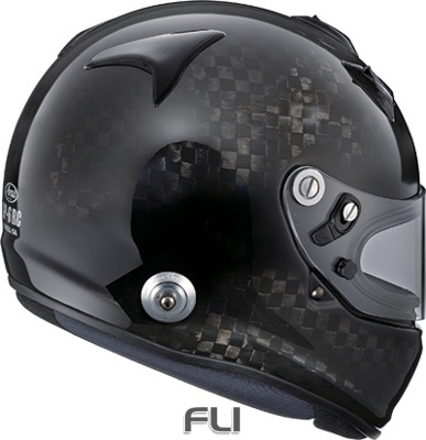 Arai GP-6RC met Hans - Carbon - Maat XL