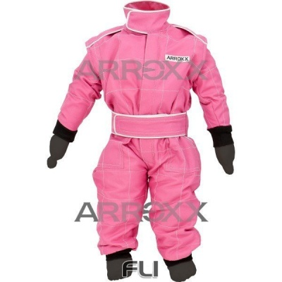 Arroxx Baby Overall - Pink