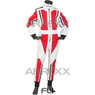 Arroxx Junior Overall Level 2 Xbase Wit-Rood-Zwart