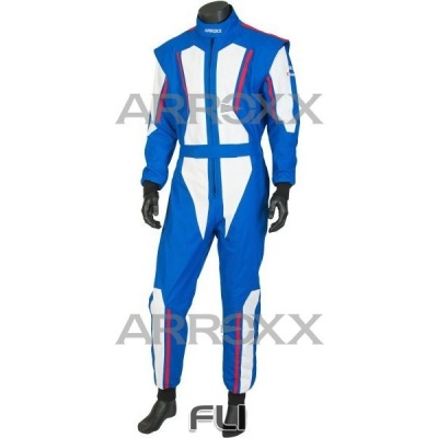 Arroxx Overall Level 2 Xbase Blauw-Wit-Rood