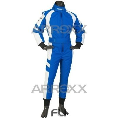 Arroxx Overall Xbase Level 2 Junior: Blauw-Wit