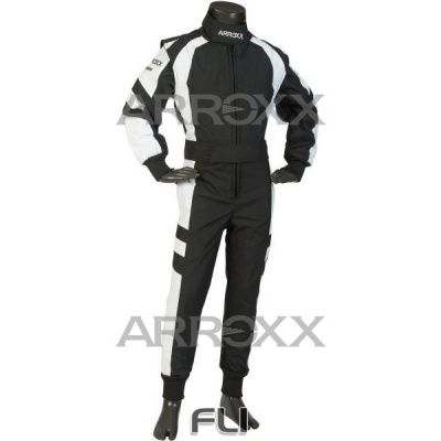 Arroxx Overall Xbase Level 2 Junior: Zwart-Wit