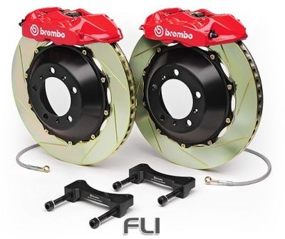 Brembo Gran Turismo Kit 1H2.8004A - Gegroefd