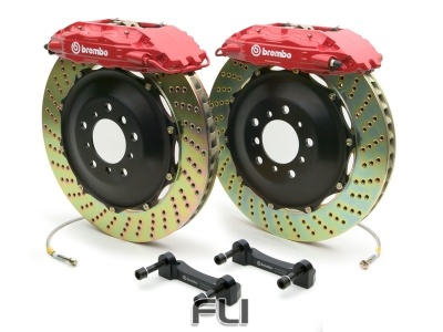 Brembo Gran Turismo Kit 1A1.6026A - Geboord