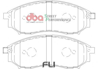 DBA XP Brakepads - DB1696XP