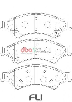 DBA XP Brakepads - DB2074XP