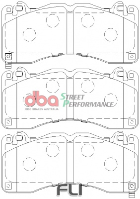 DBA XP Brakepads - DB9021XP