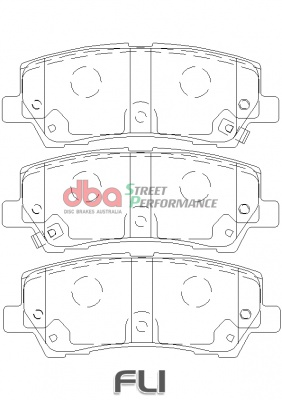 DBA XP Brakepads - DB9022XP