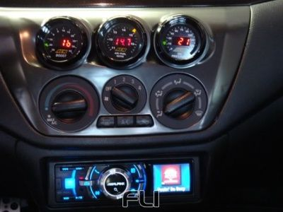 Evo 8-9 (2002-2006) 3 Gauge Dash Panel