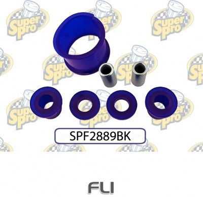 FR STEERING RACK MOUNT KIT (Without Fitting Tool) SPF2889BK