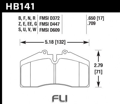 HB141Z.650 - Performance Ceramic