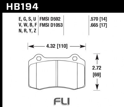 HB194Z.665 - Performance Ceramic