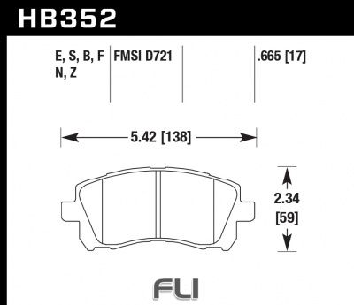 HB352Z.665 - Performance Ceramic