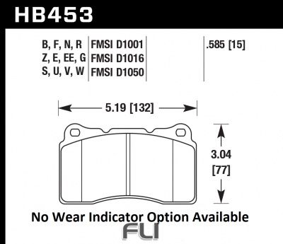 HB453Z.585 - Performance Ceramic