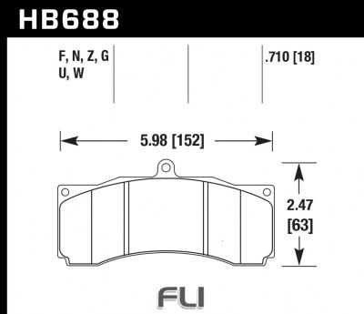 HB688Z.710 - Performance Ceramic
