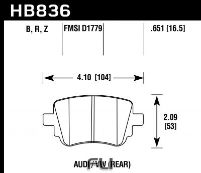 HB836Z.651 - Performance Ceramic