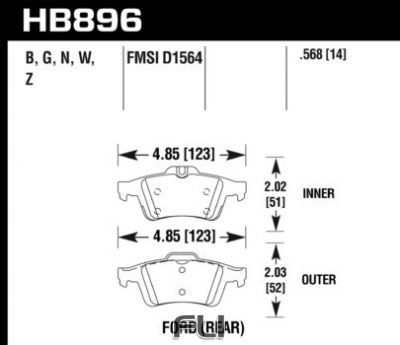 HB896Z.568  - Performance Ceramic