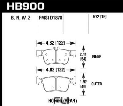 HB900Z.572 - Performance Ceramic