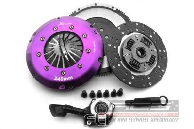 Heavy Duty Organic Clutch Kit Incl Flywheel & Concentric Slave Cilinder