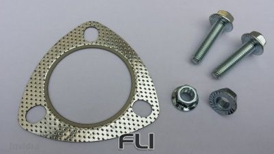 invidia Bolt/Gasket Replacement Kit for Honda - 2.5 & 2.75 inch 3 Bolt.