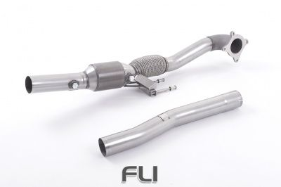 Large Bore Downpipe and Hi-Flow Sports Cat-