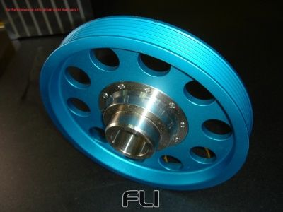 Light weight crank pulley