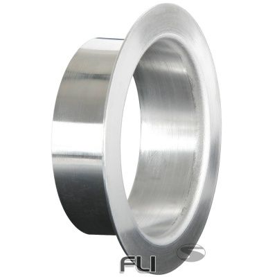Lucht Inlaat Adapter 76mm Zilver