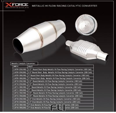Metallic 2.5 inch Inlet (100 Cell)
