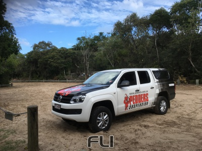 Pedders VW Amarok Lift Kit +30mm