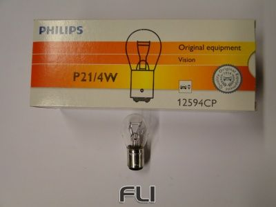 Philips Lamp P21/4W Wit