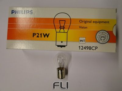 Philips Lamp P21W Wit