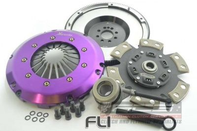 Race Sprung Ceramic Clutch Kit Incl Flywheel & Concentric Slave Cilinder