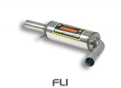 Supersprint - Centre exhaust Stainless steel
