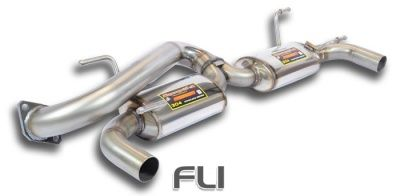 Supersprint - Rear Exhaust Racing Right - Left